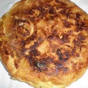 4cafa21f58b00d9806ade60732bdd038 - ▷ Tortilla de papas con huevos blancos 🥚 🥔