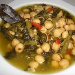 56ce69667669db80737dec7a457c2044 - ▷ Garbanzos lechosos con verdura 🍲
