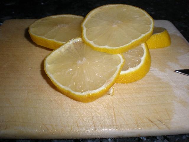 Rodajas de limón
