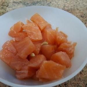 c64510077f963bf01fbd40fbf6ecf4c4 - ▷ Daditos de salmón crudo 🐠 🍋