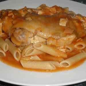 98e0cdd4e0bdb1a2d8e1cded7f0b007c - ▷ Pasta con manitas en salsa popan 🍝 🐷
