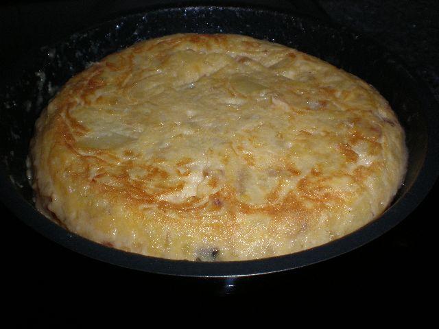 Tortilla jugosa