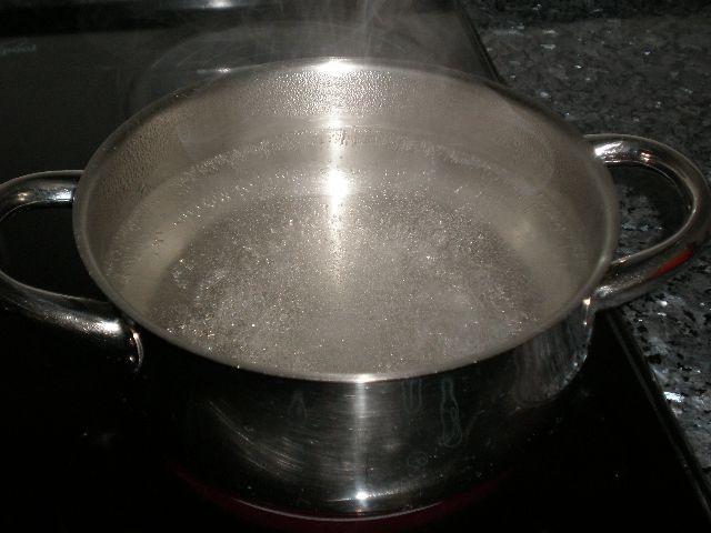 Hervir agua