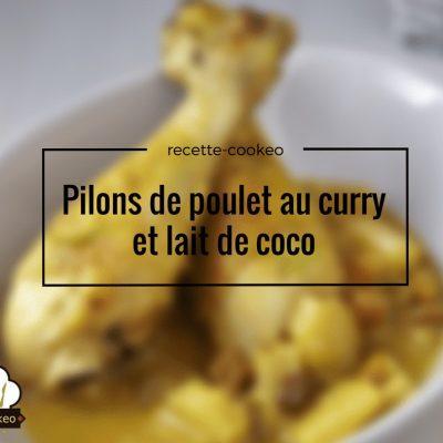 pilons de poulet au curry et lait de