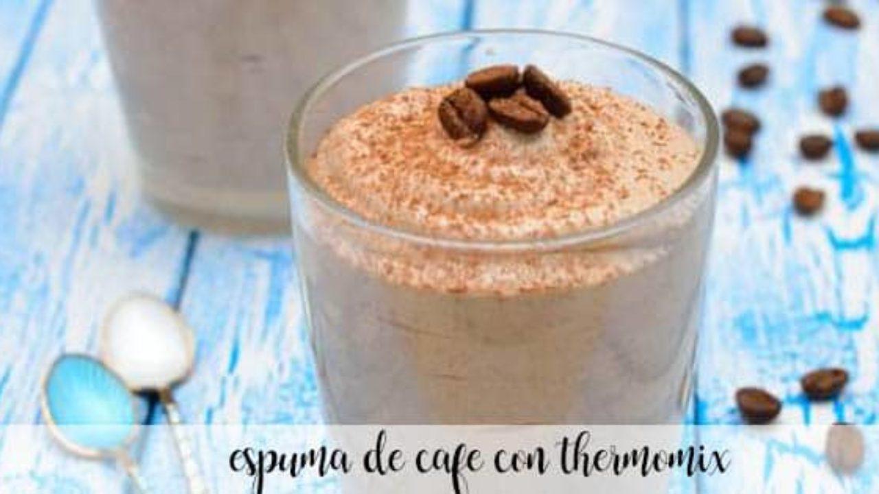 mousse de cafe au thermomix