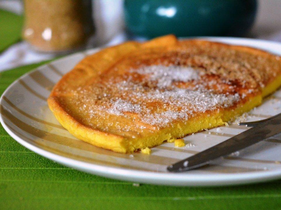 Omelette caramélisée