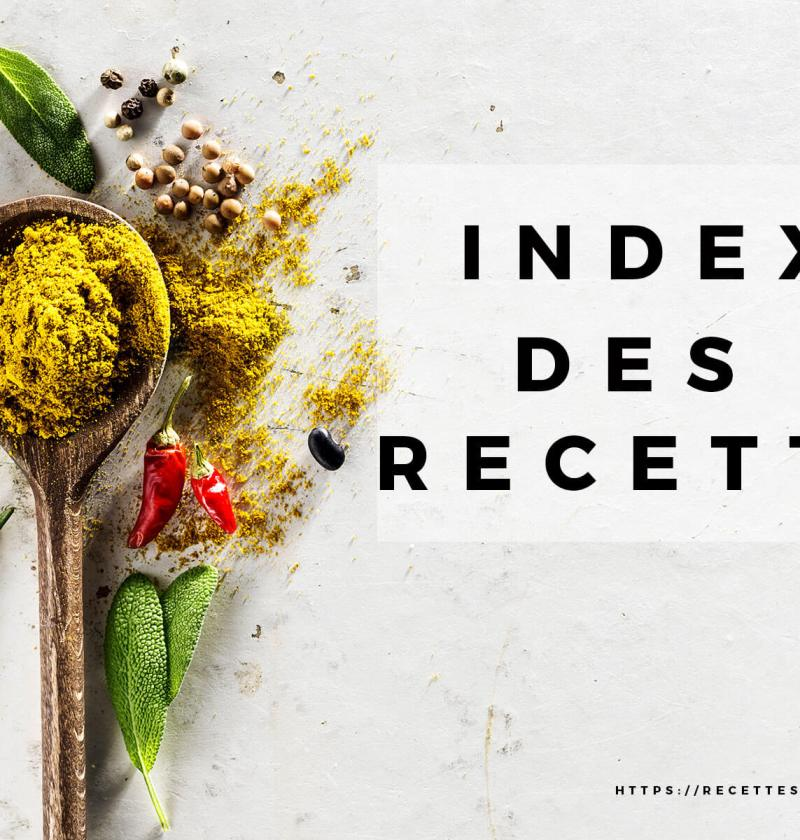 index recettes multicuiseurs