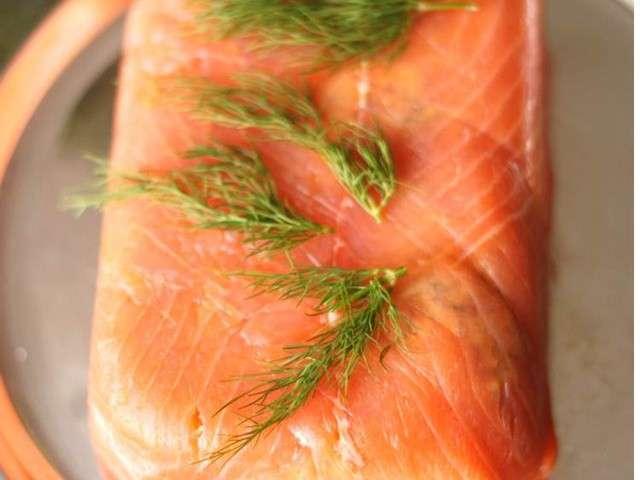 recettes de terrines et saumon