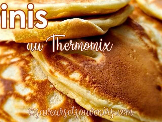 recettes de blinis et thermomix