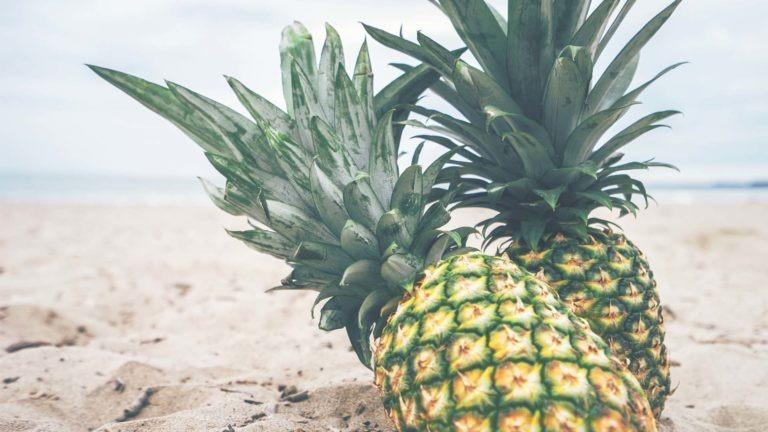 fruits legumes ananas