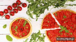 recette tarte tomate moutarde