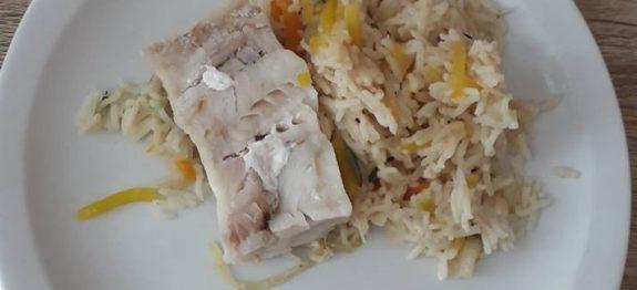 colin julienne de legumes et riz