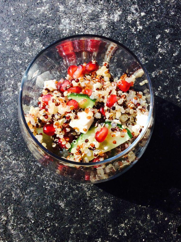 Salade de printemps quinoa