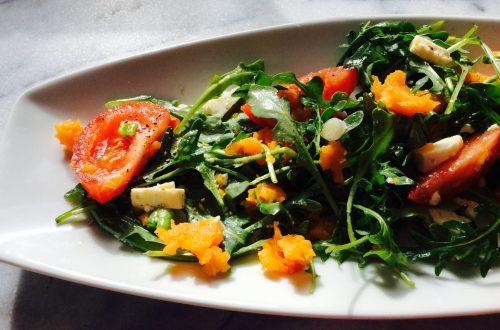 Salade tiède aux patates douces et feta