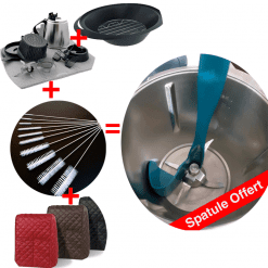 lot accessoires thermomix avec spatule rotative offert