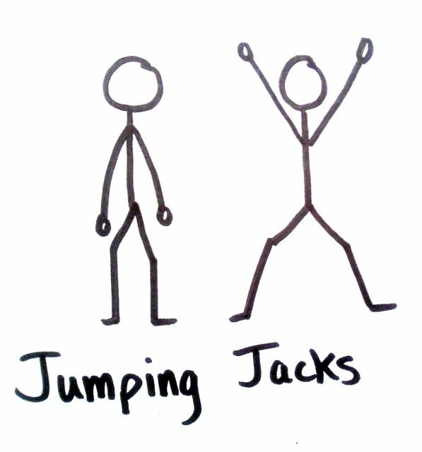 Fancy Jumping Jacks!