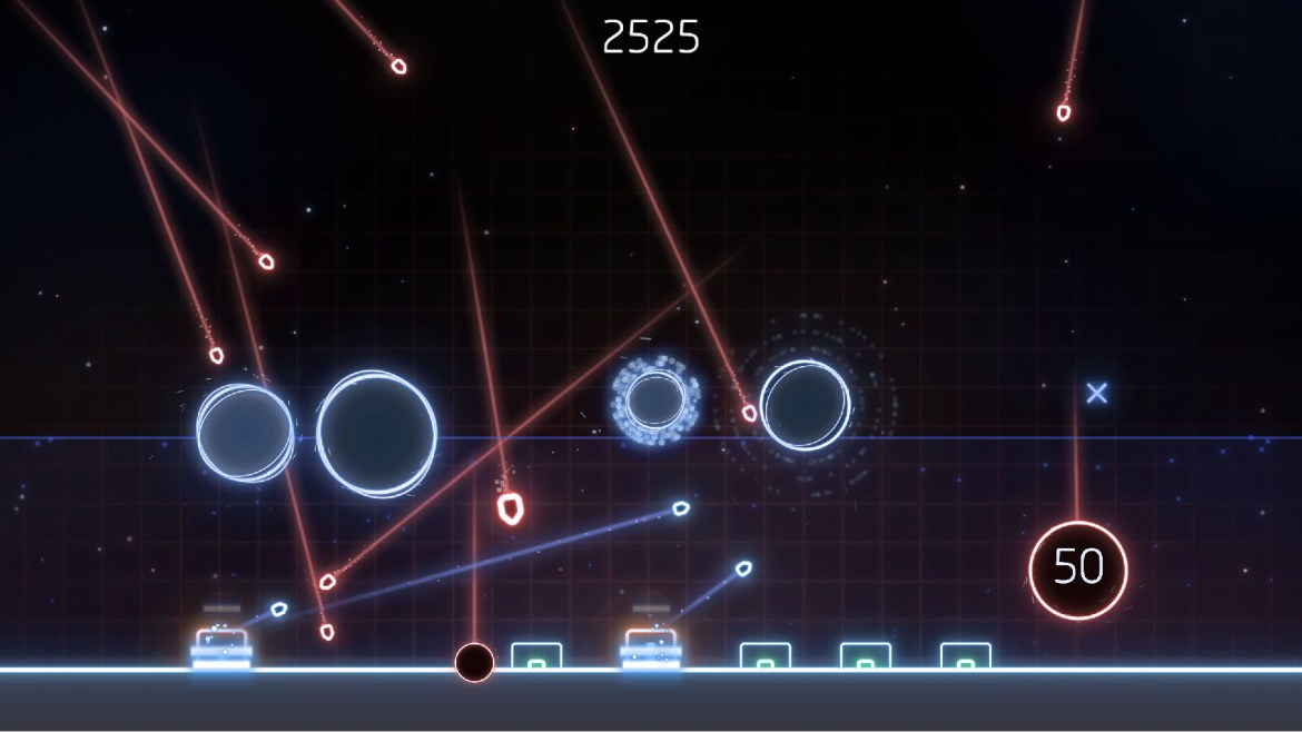 Missile Command Recharged - Screenshot 2