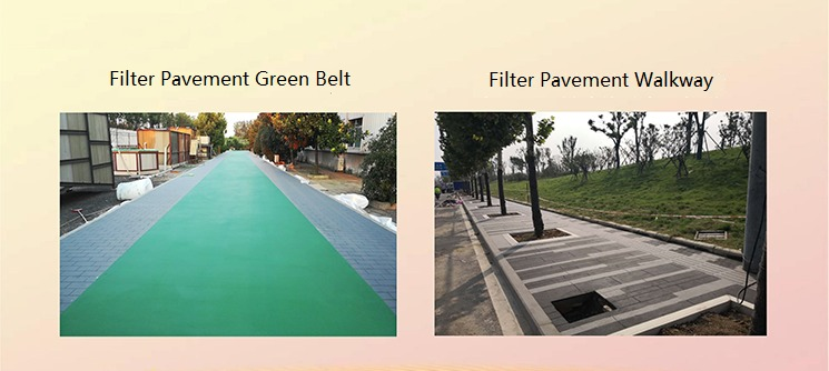 Green Filter Pavement, Filter Pavers