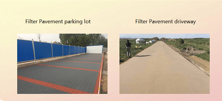Rechsand Filter Pavement, Filter Pavers for driveway
