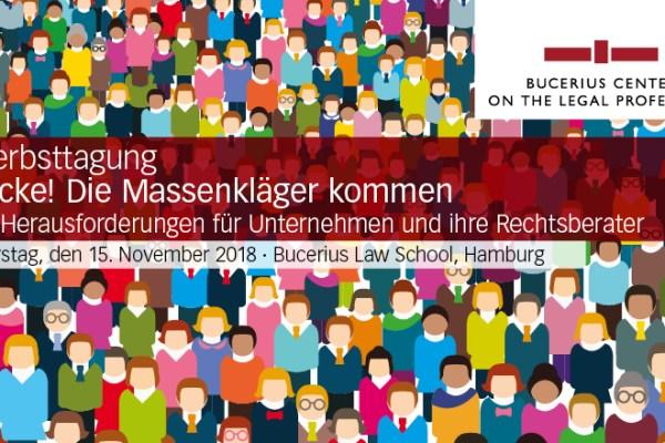 Bucerius Herbsttagung: Vorstellung Smarte Reihengeschäfte