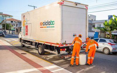 ReciclaBC fechou o primeiro semestre com crescimento de 38%