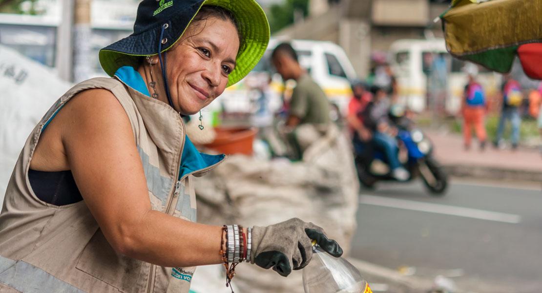 Ana Joquina, recicladora, recimed, reciclaje