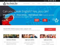 Diseño Web Your English Time