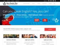 Diseño Web Your English Time