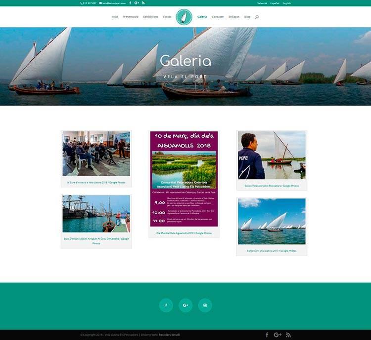 disseny-web-vela-galeria