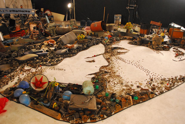 Imagens Extranhas formam a Arte do Lixo. (1/6)