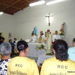 Pe. Célio Casale preside Missa na Capela Nossa Senhora das Dores, no Vasco da Gama