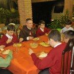 Jantar com o Pe. Santiago Canals, EP - encarregado dos blogs dos Arautos dos GB