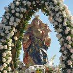 Nossa Senhora dos Prazeres (imagem levada na procissão)