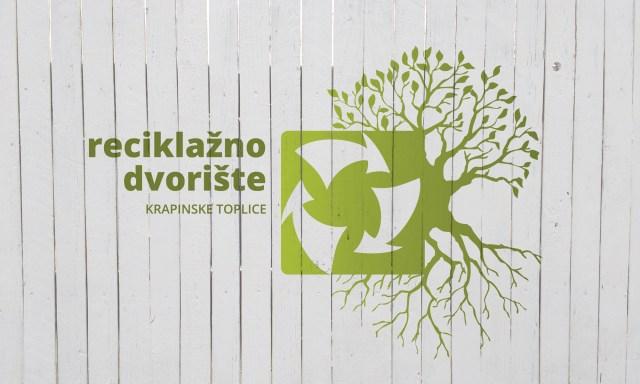 ograda s logom reciklažnog dvorišta