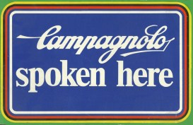 Campagnolo spoken here