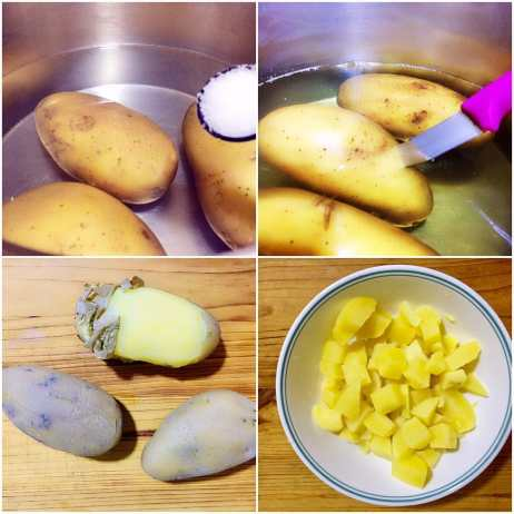 boil potato for salad