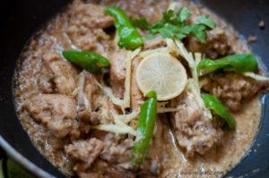 White Karahi REcipe