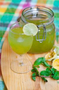 Mint lemonade recipe
