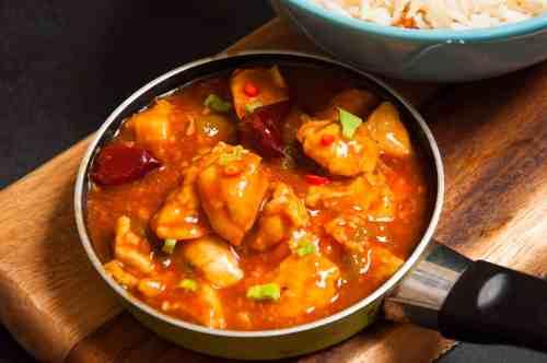 manchurian chicken gravy recipe