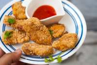 sesame chicken nuggets recipe