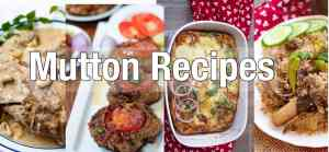 mutton recipes
