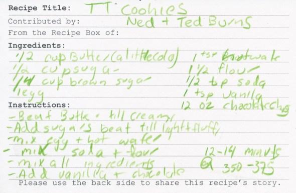 TT Cookies