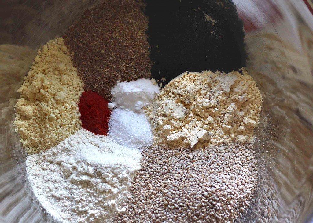 Wally's Sesame Crackers- vegan and gluten free ingredients