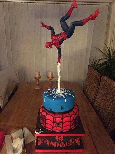 Spiderman Cake Decorating Kit