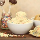 birthday cake eggless cookie dough