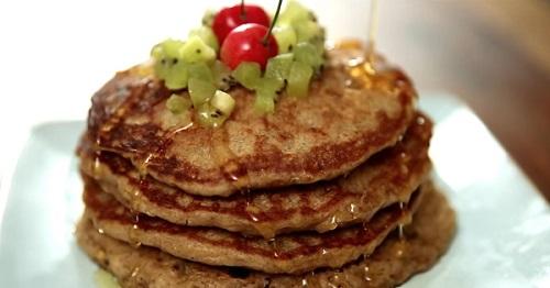 eggless oatmeal pancake recipe
