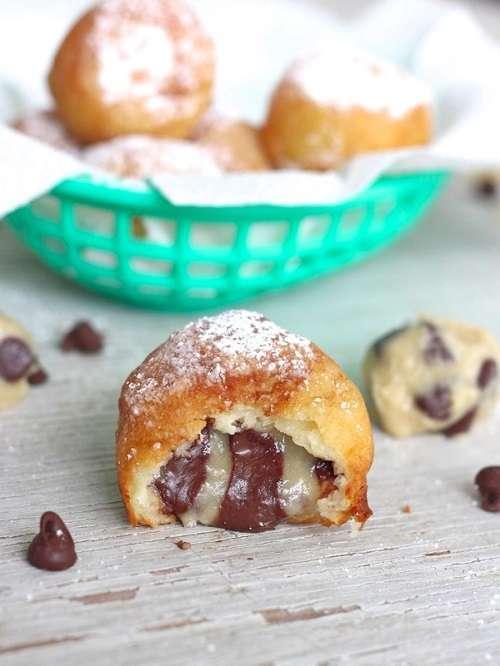 Fried Cookie Dough recipe