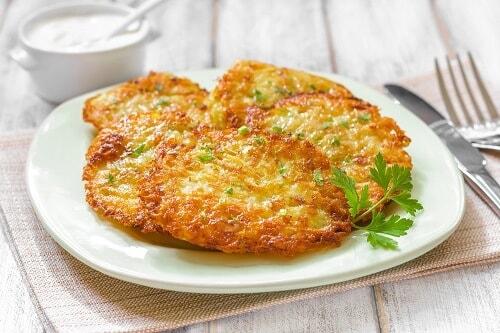 eggless potato pancake