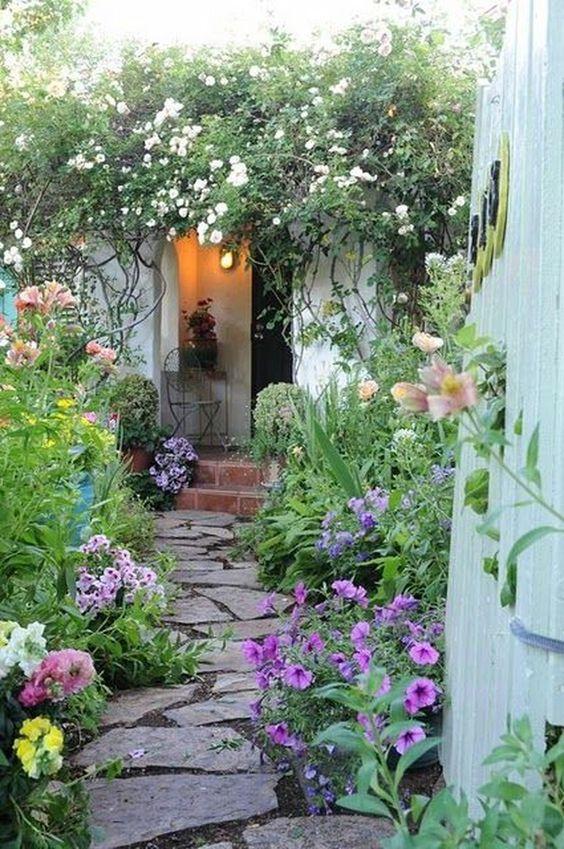 Colorful Backyard Garden 5