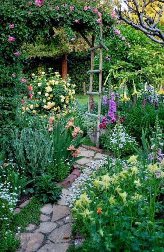 Colorful Backyard Garden 8